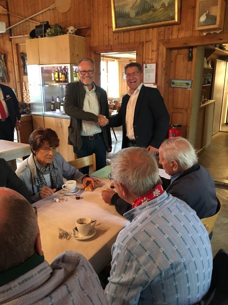 SVP Bezirk Dietikon am Sessionsanlass im Haus der Freiheit