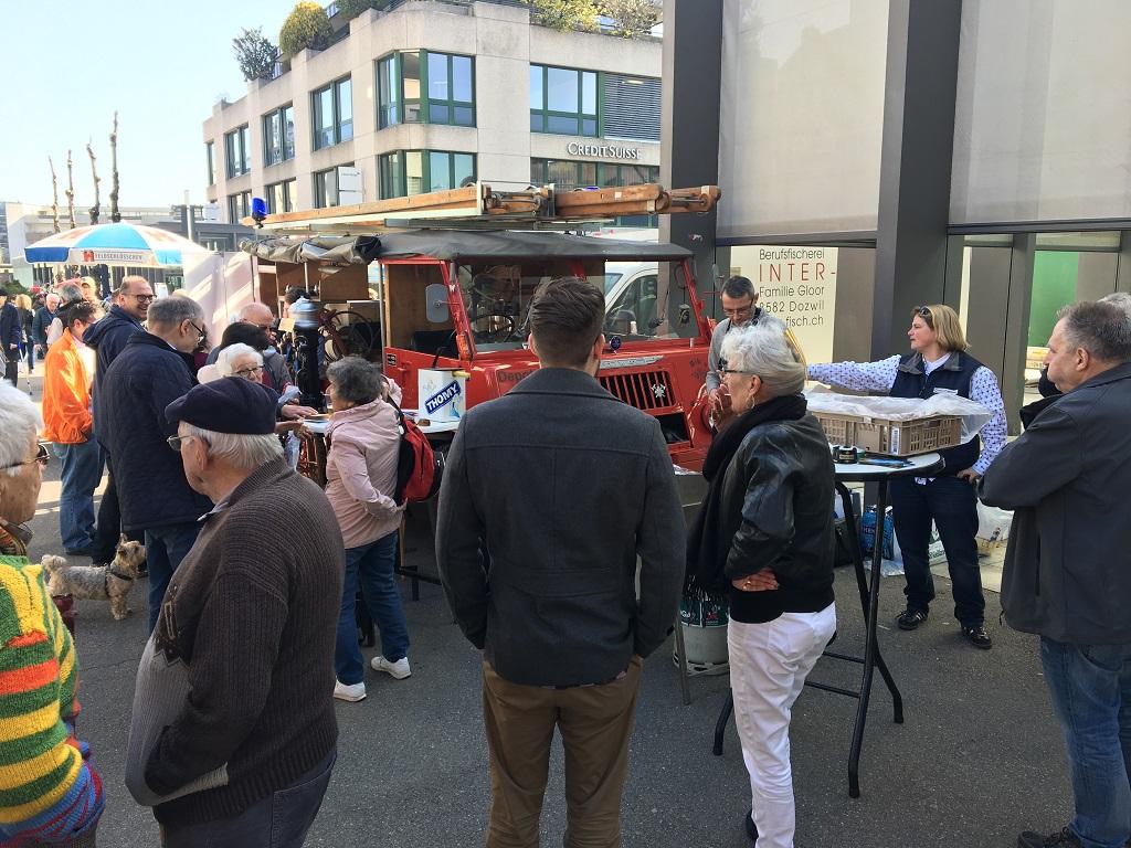 Gelungene Wahlveranstaltung –  «Roger Bachmann als neuer Stadtpräsident»